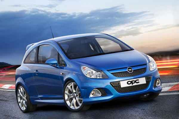 New opel corsa 3 5 door