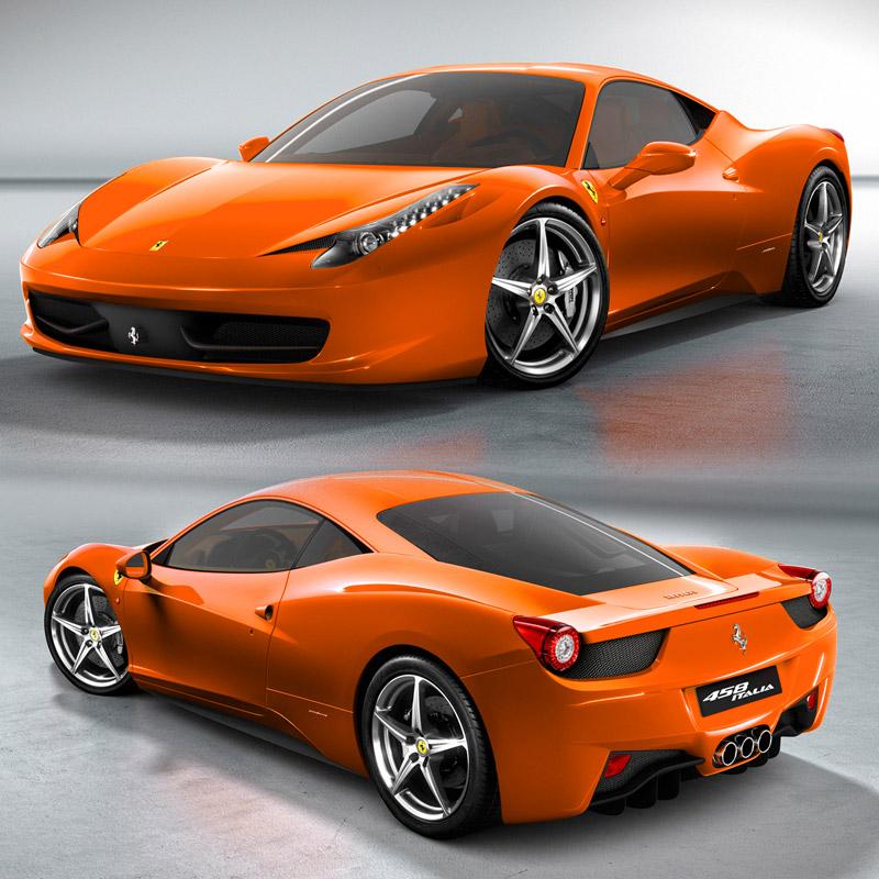 Ferrari 458 colors