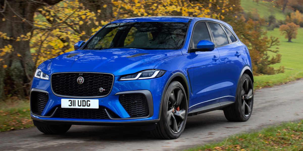 2021 Jaguar F Pace Svr Gets Faster The Car Market South Africa